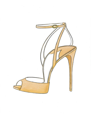 M'o Exclusive: Europeaus Suede Ankle Strap Stilettos by PAUL ANDREW Now Available on Moda Operandi