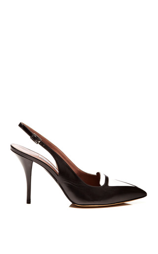 Alexa Leather Slingback Pumps by TABITHA SIMMONS Now Available on Moda Operandi