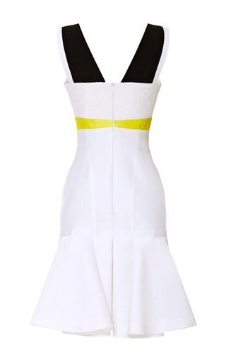 Paneled Colorblocked Dress by J. MENDEL for Preorder on Moda Operandi