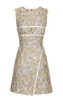 High V Neck Sleeveless Dress by J. MENDEL for Preorder on Moda Operandi