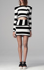 Staggered Stripe Pullover by THAKOON ADDITION for Preorder on Moda Operandi