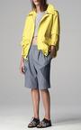 Striped Sweatshirt Knee Length Track Shorts by THAKOON ADDITION for Preorder on Moda Operandi