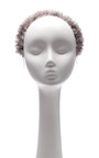 Michi Pearl Embellished Mink Headband by EUGENIA KIM Now Available on Moda Operandi