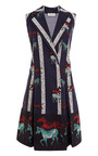 Lapel Wrap Dress by SUNO for Preorder on Moda Operandi