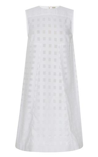 Medium suno white a line sheath dress