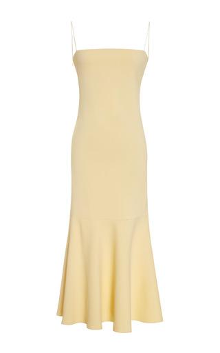 Medium wes gordon yellow carolyn dress