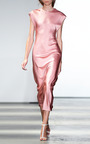 Structured Cap Sleeve Sheath Dress by WES GORDON for Preorder on Moda Operandi