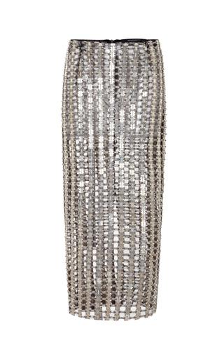 Medium wes gordon metallic pencil skirt 2