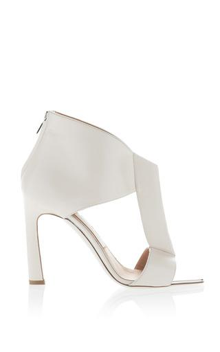 Seta Calfskin T Strap Sandals by SALVATORE FERRAGAMO for Preorder on Moda Operandi
