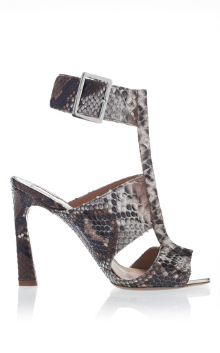 Medium salvatore ferragamo sesame python sandals