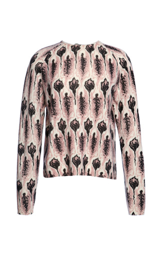 Claudia Printed Cashmere Jumper by WHISTLES for Preorder on Moda Operandi