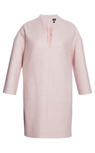 Medium whistles pink dari sculptured raffia dress