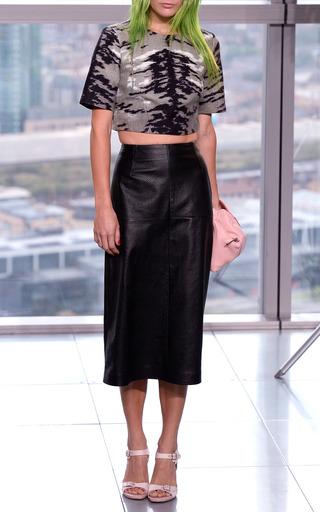 Lauren Aline Leather Short by WHISTLES for Preorder on Moda Operandi