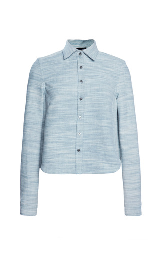 Medium whistles blue garance denim shirt