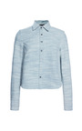 Garance Denim Shirt by WHISTLES for Preorder on Moda Operandi