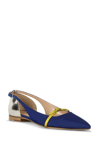 Judgie Flat by OSCAR DE LA RENTA for Preorder on Moda Operandi