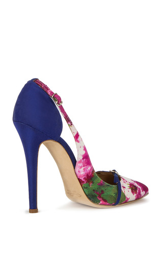 Kenzie Pump by OSCAR DE LA RENTA for Preorder on Moda Operandi