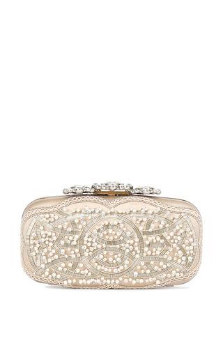 Crown Goa Clutch by OSCAR DE LA RENTA for Preorder on Moda Operandi