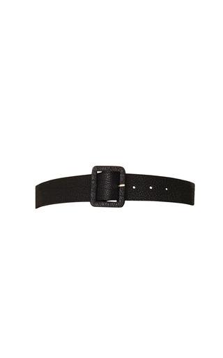 Medium rosie assoulin black long leather belt