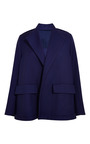 Luxe Twill Suiting Swing Coat by ROSIE ASSOULIN for Preorder on Moda Operandi