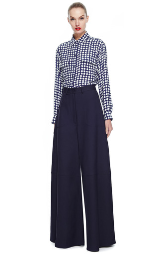 Rosie Assoulin Twill Suiting Rave Pants by ROSIE ASSOULIN for Preorder on Moda Operandi
