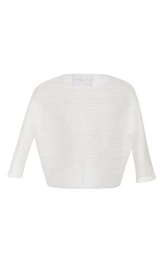 Boxy Cropped Jacket by CAROLINA HERRERA for Preorder on Moda Operandi