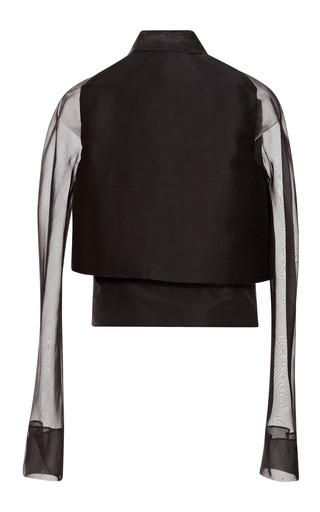 Layered Tuxedo Jacket by CAROLINA HERRERA for Preorder on Moda Operandi