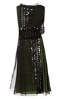 Foam Edged Embroidery Layered Dress by CAROLINA HERRERA for Preorder on Moda Operandi