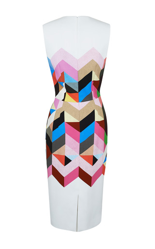 Printed Crepe Issy Dress by PREEN BY THORNTON BREGAZZI for Preorder on Moda Operandi