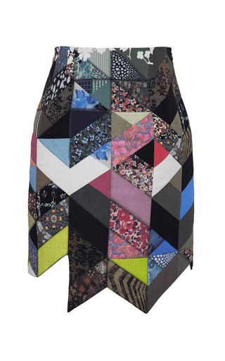 Medium preen print quilted print dixon skirt