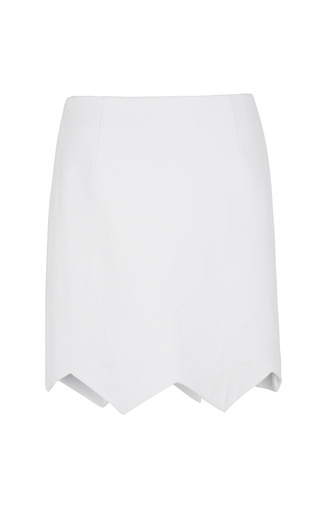Quilted Crepe Aero Skirt by PREEN BY THORNTON BREGAZZI for Preorder on Moda Operandi