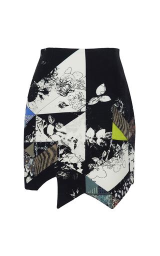 Medium preen print printed coating quilt skirt