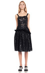 Wet Lace Frill Dress by SIMONE ROCHA for Preorder on Moda Operandi