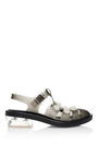 Black Jelly Daisy Pearl Sandals by SIMONE ROCHA for Preorder on Moda Operandi
