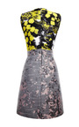 Yellow And Pink Patchwork Sleeveless Dress by MICHAEL VAN DER HAM for Preorder on Moda Operandi