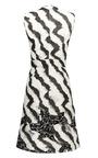 White Sleeveless Patchwork Dress by MICHAEL VAN DER HAM for Preorder on Moda Operandi