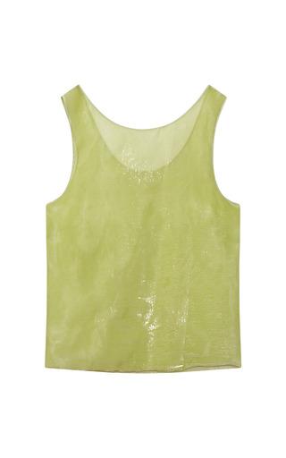 Velvet Panne Silk Top by ROCHAS for Preorder on Moda Operandi