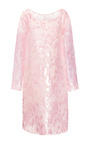 Big Flower Velvet Nigel Dress by ROCHAS Now Available on Moda Operandi