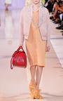 Irdescent Jacquard Cloque Nigel Dress by ROCHAS for Preorder on Moda Operandi