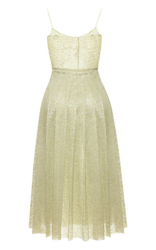 Bonded Lace Slip Dress by ROCHAS for Preorder on Moda Operandi