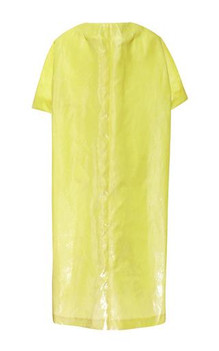 Bonded Velvet Panne Silk Short Sleeve Coat by ROCHAS for Preorder on Moda Operandi