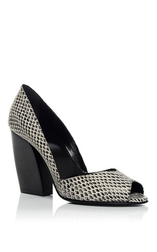 Black Calamity Pump by PIERRE HARDY for Preorder on Moda Operandi
