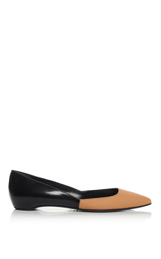 Medium pierre hardy black peach and black new classic ballet flat