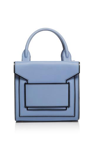 Medium pierre hardy black light blue and black calf bag