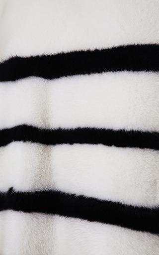 Striped Mink Pullover by KULE Now Available on Moda Operandi
