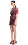 Lacquered Silk Scribble Dress by KENZO for Preorder on Moda Operandi