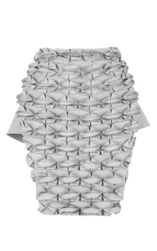 Medium j w anderson dark grey grey japanese canvas butterfly skirt