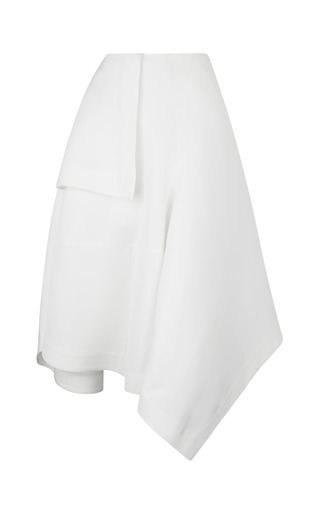 Medium j w anderson white white japanese canvas origami skirt