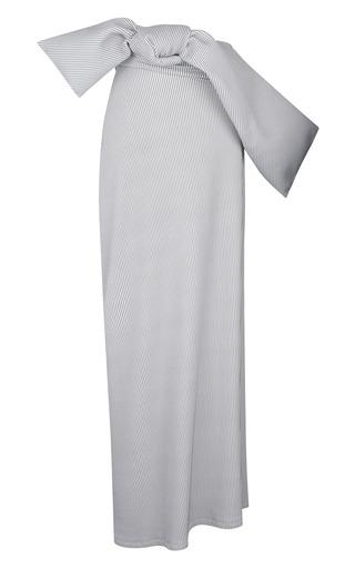 Medium j w anderson stripe stripe jersey skirt with belt