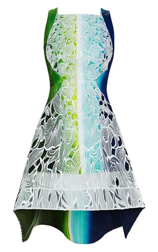 Medium peter pilotto blue lace solar dress